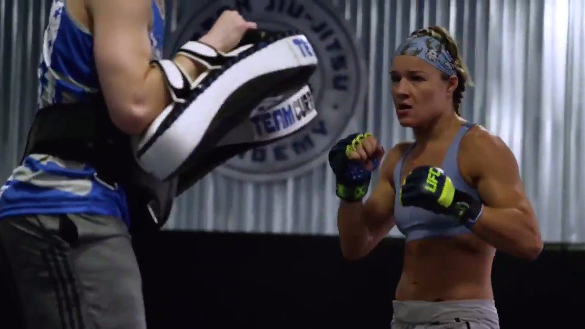 It's not if you fall. It's how you respond.  @FeliceHerrig displays her #FightingSpirit every day as she prepares for #UFC229. @ModeloUSA