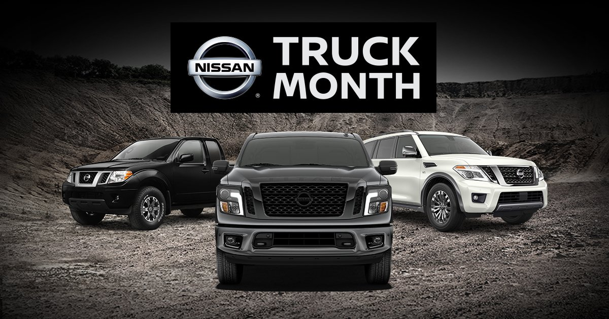 Save On Our Capable Family Of Trucks And SUVs During Nissanu0027s Take Home A  Titan Truck Month Event. Youu0027ve Got Work To Do. And Weu0027ve Got Your Truck  And SUV.