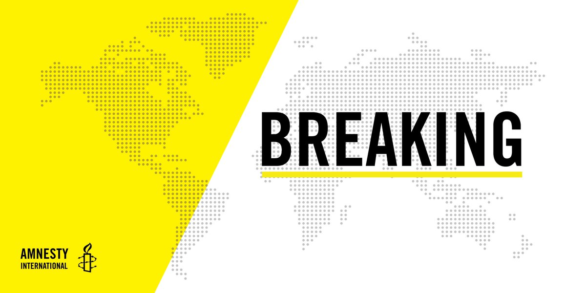BREAKING: We are issuing a rare call for a halt to a vote on President Trump's nomination of Brett Kavanaugh to the #SCOTUS unless and until any information relevant to Kavanaugh's possible involvement in human rights violations. https://t.co/Jj0Doq3C25