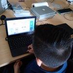 Image for the Tweet beginning: Kingarten computer basics: Drag and
