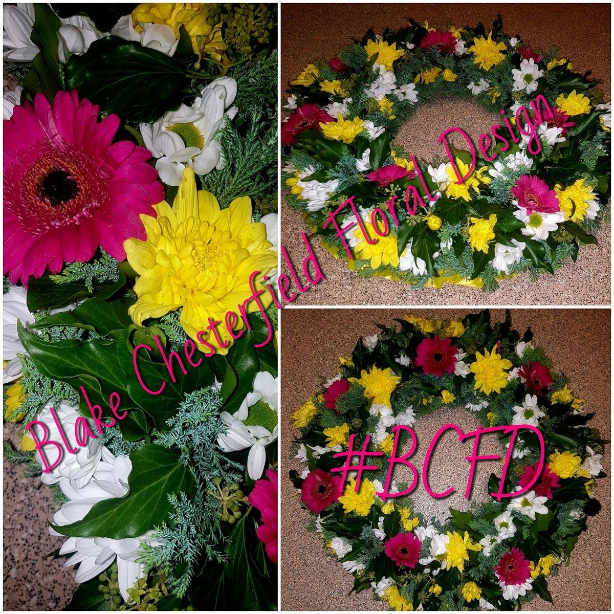 Blake chesterfield blakechester1 twitter gerberas chrysanthemum colourfulwreath wreaths funeralflowers funeralwreath sympathy sympathywreathpicitterkfbkcvsdrd izmirmasajfo
