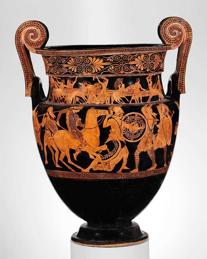 Adrienne Mayor On Twitter Valiant Ancientamazons On Greek Vase