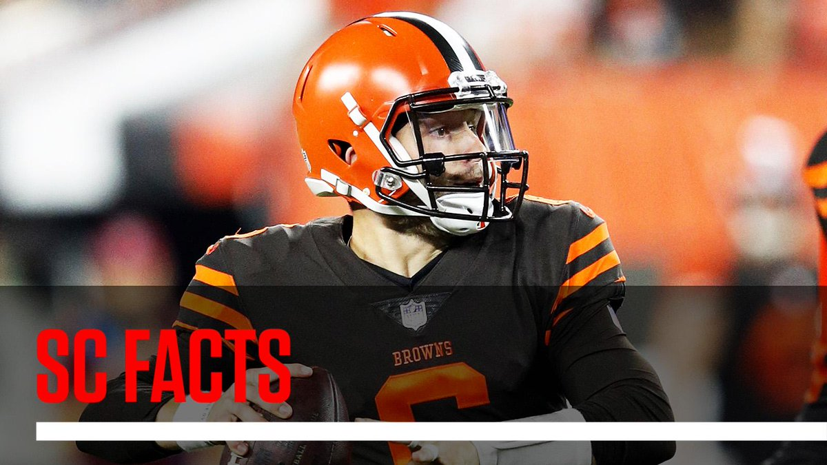 The last time the Browns had a better record than the Patriots was entering Week 9 of 2002. #SCFacts