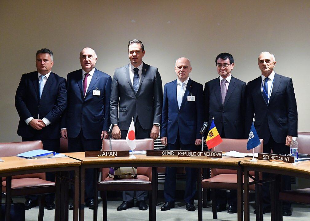 日GUAM外相会合 GUAMとはジョージア、ウクライナ、アゼルバイジャン、モルドバ。