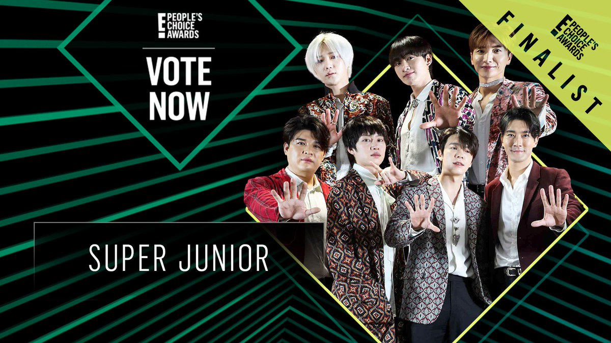 Vote for Super Junior by retweeting this post: #SuperJunior #TheGroup #PCAs