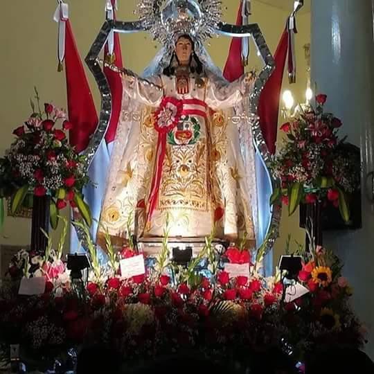 """#24deSetiembre Hoy el pueblo católico está de fiesta por #NuestraSeñoraDeLasMercedes  Feliz día """"Mamita Meche"""" En #Paita"""