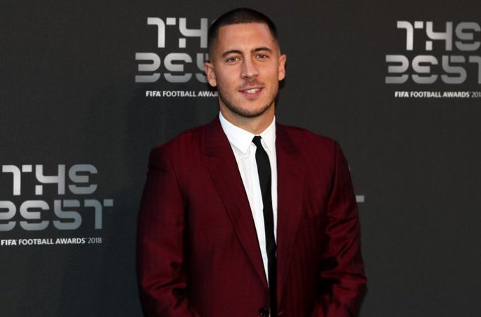 Eden #Hazard au sujet du trophée « The Best FIFA Men\