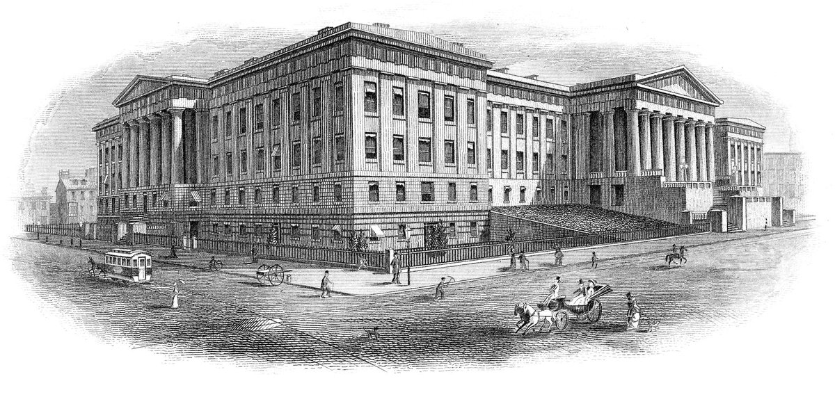 #OTD: The Patent Office fire of 1877 was the second fire in the agency's history. Approximately 80,000 models and 600,000 copy drawings were destroyed. See more patent history at  http:// bit.ly/10MPatents  &nbsp;  . #10MillionPatents<br>http://pic.twitter.com/KCgA5GQ5Bf