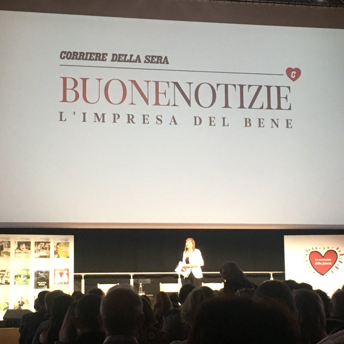 Buon primo compleanno @CorriereBN. Un anno, e per fortuna di successo, dedicato alla forza e al vero senso del #TerzoSettore  - Ukustom