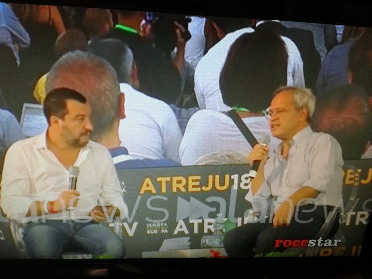 #Mentana: Cosa è successo a #Bari?#Salvini: Non lo so.Una condanna forte contro l\