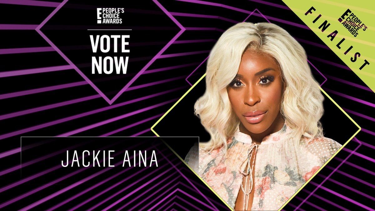 Vote for Jackie Aina by retweeting this post: #JackieAina #TheBeautyInfluencer #PCAs