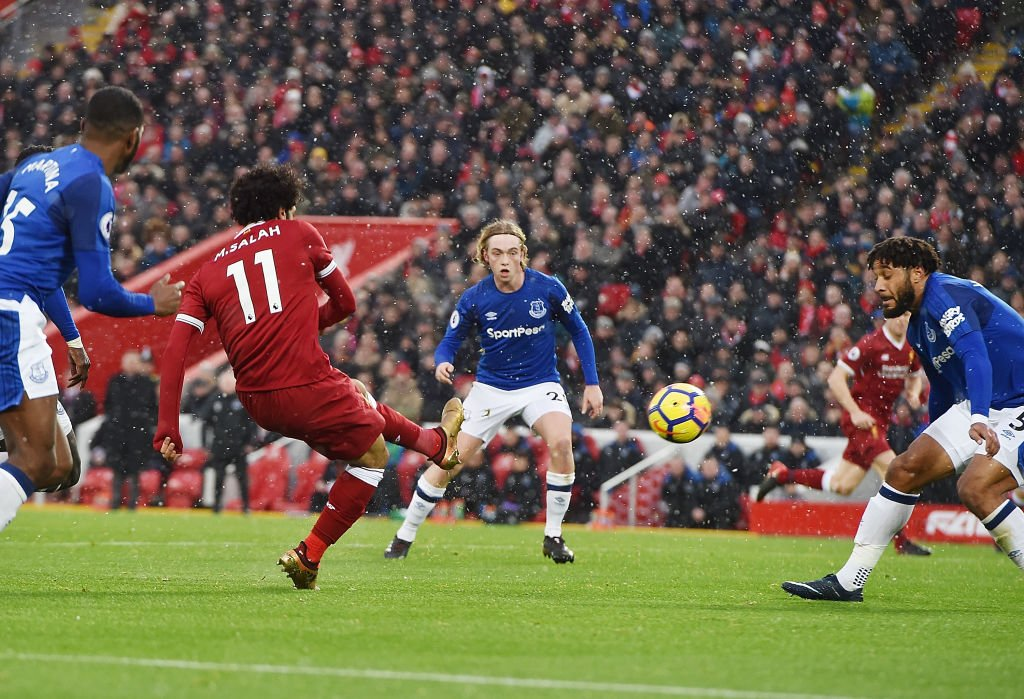 Mohamed Salah's derby day goal against Everton has won the Fifa Puskas Award.  #TheBest #FifaFootballAwards live: https://t.co/lHjgvGlSoT
