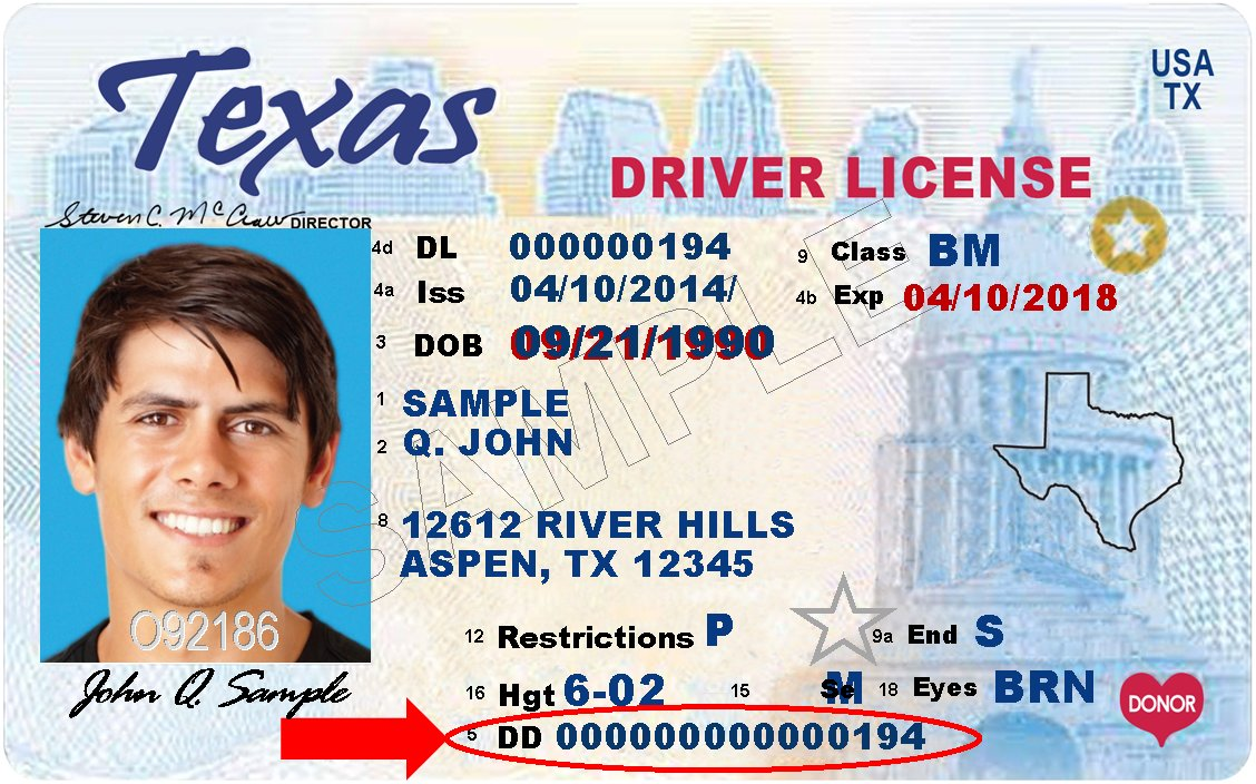 Texas Dps On Twitter The Audit Number On Your Driver License Is Important Should Your Dl Get Lost Stolen Or Destroyed You Will Need This Number To Obtain A Replacement Online Save