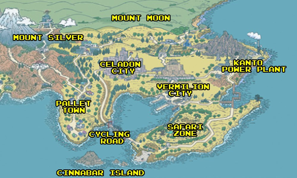 If you compare the map from Pokémon Red to a map of Tokyo, there are noticeable similarities.  In fact, every Pokémon game is based on a real-world location. https://t.co/zIevRohddu