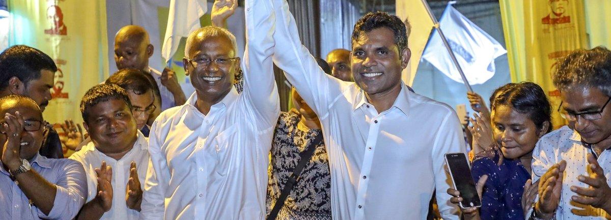 Une transition surprise et historique aux Maldives https://t.co/hQP77NxhxV