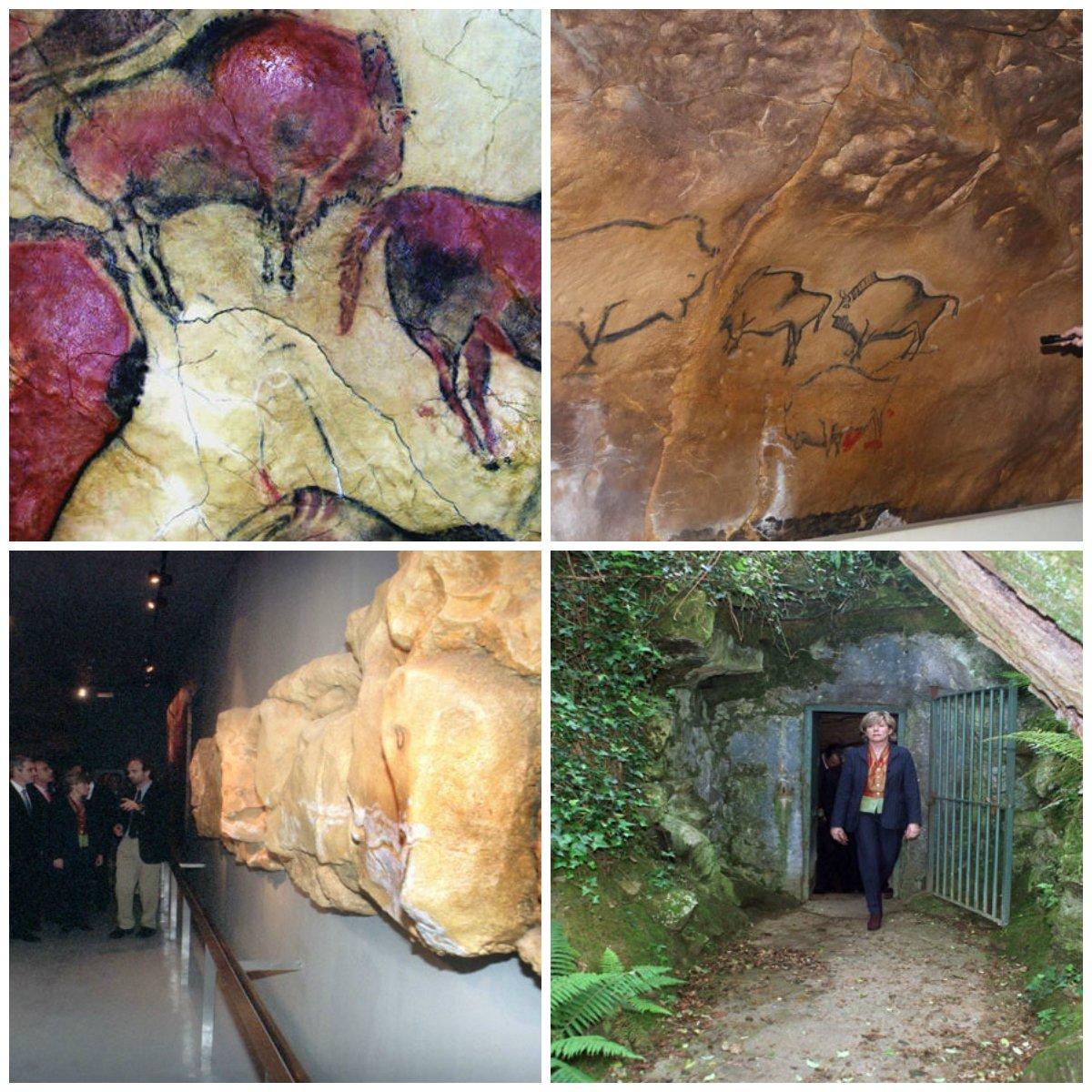 #GALERÍA📸 | Cueva de Altamira, un lugar fascinante y paleolítico https://t.co/yjAi70OpeD  Hoy se cumplen 139 años del descubrimiento de la famosa Cueva de Altamira ubicada en España