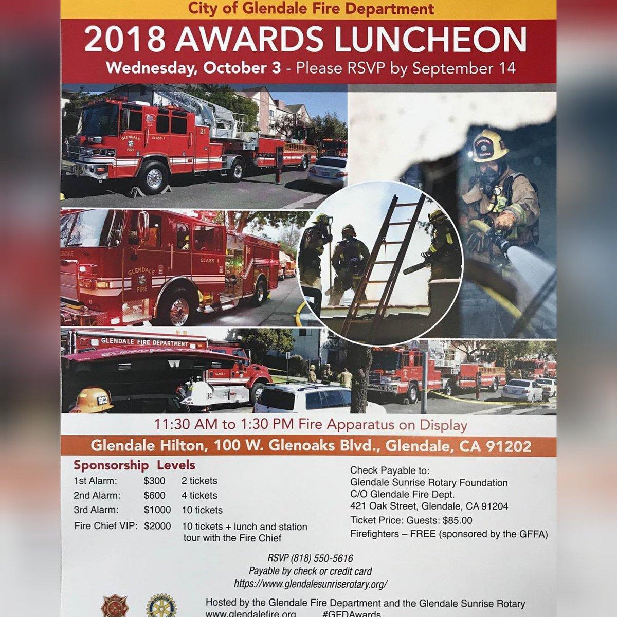 Media Tweets by Glendale Fire Department CA (@GlendaleFireCA