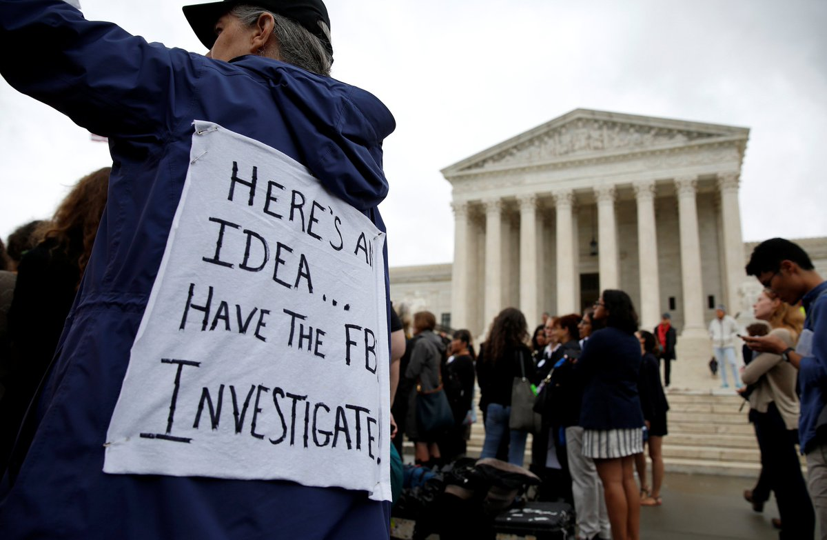 Amnesty International called on lawmakers to block Brett Kavanaugh's Supreme Court nomination. They cited insufficient probing on: - his alleged sexual assaults - his post-9/11 White House record - his possible involvement in rendition and other human rights violations