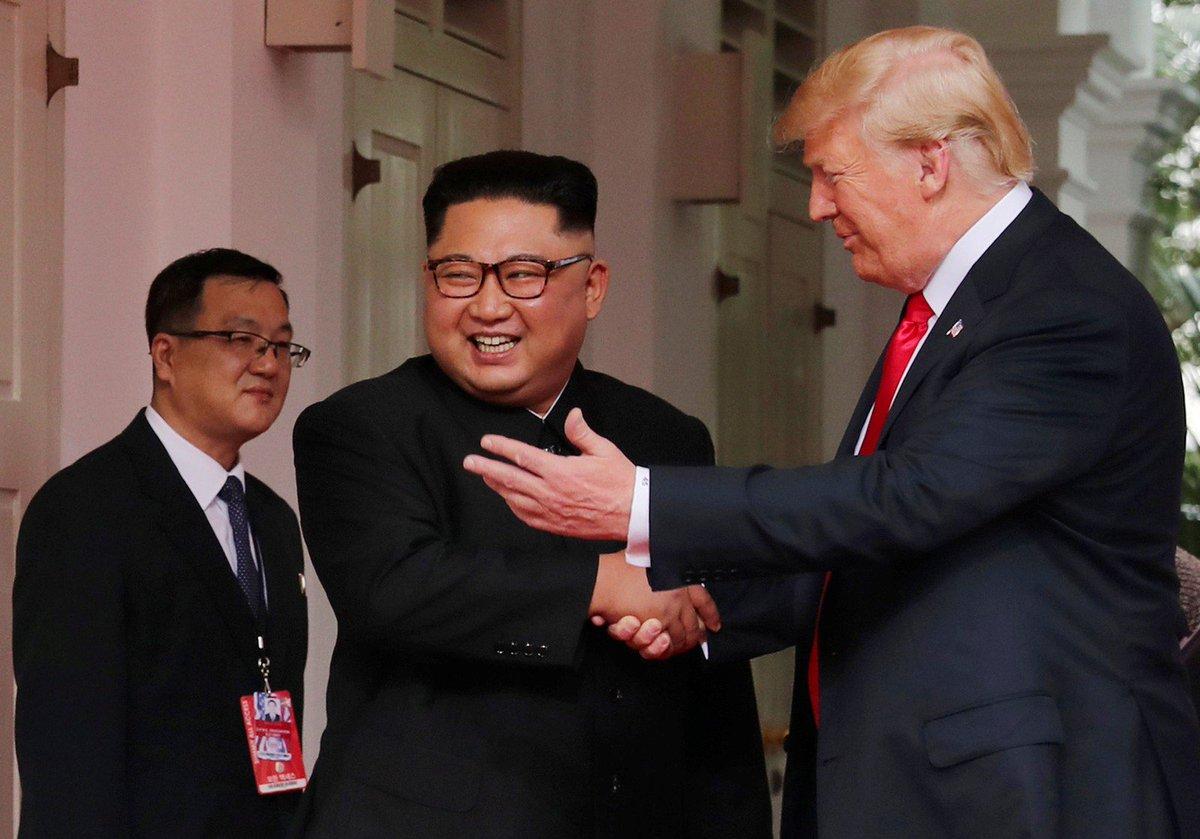 Trump diz que Kim Jong-Un tem sido 'incrível' https://t.co/xIeBSJGRLU #G1