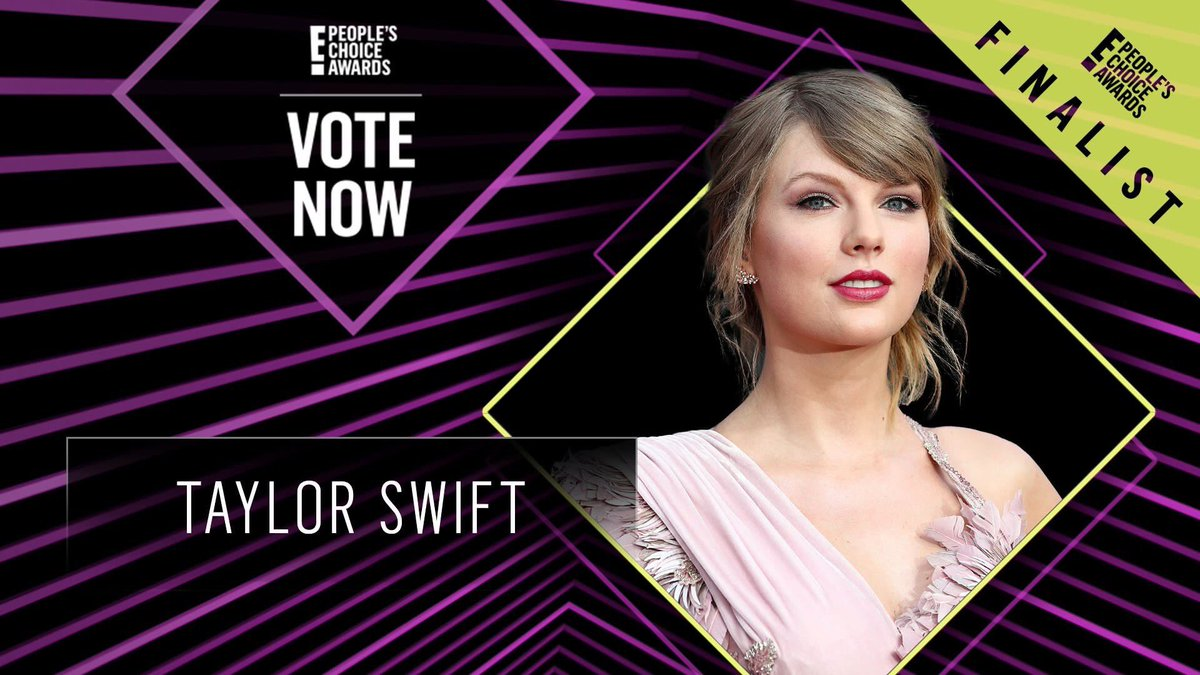 Taylor has made it as a finalist for all her #PCA categories - vote online 25 times per account per day!   Female Artist:  http:// taylor.lk/PCAFemale  &nbsp;    Concert Tour:  http:// taylor.lk/PCATour  &nbsp;    Social Celeb:  http:// taylor.lk/PCASocial  &nbsp;    (You can also vote using the hashtags, RTs count)<br>http://pic.twitter.com/VhNsbcI0Y1