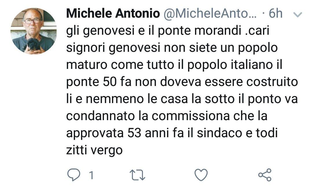 #ziomichele. #PonteMorandi #Genova #pazziinlibertà @neniambulance corri!  - Ukustom
