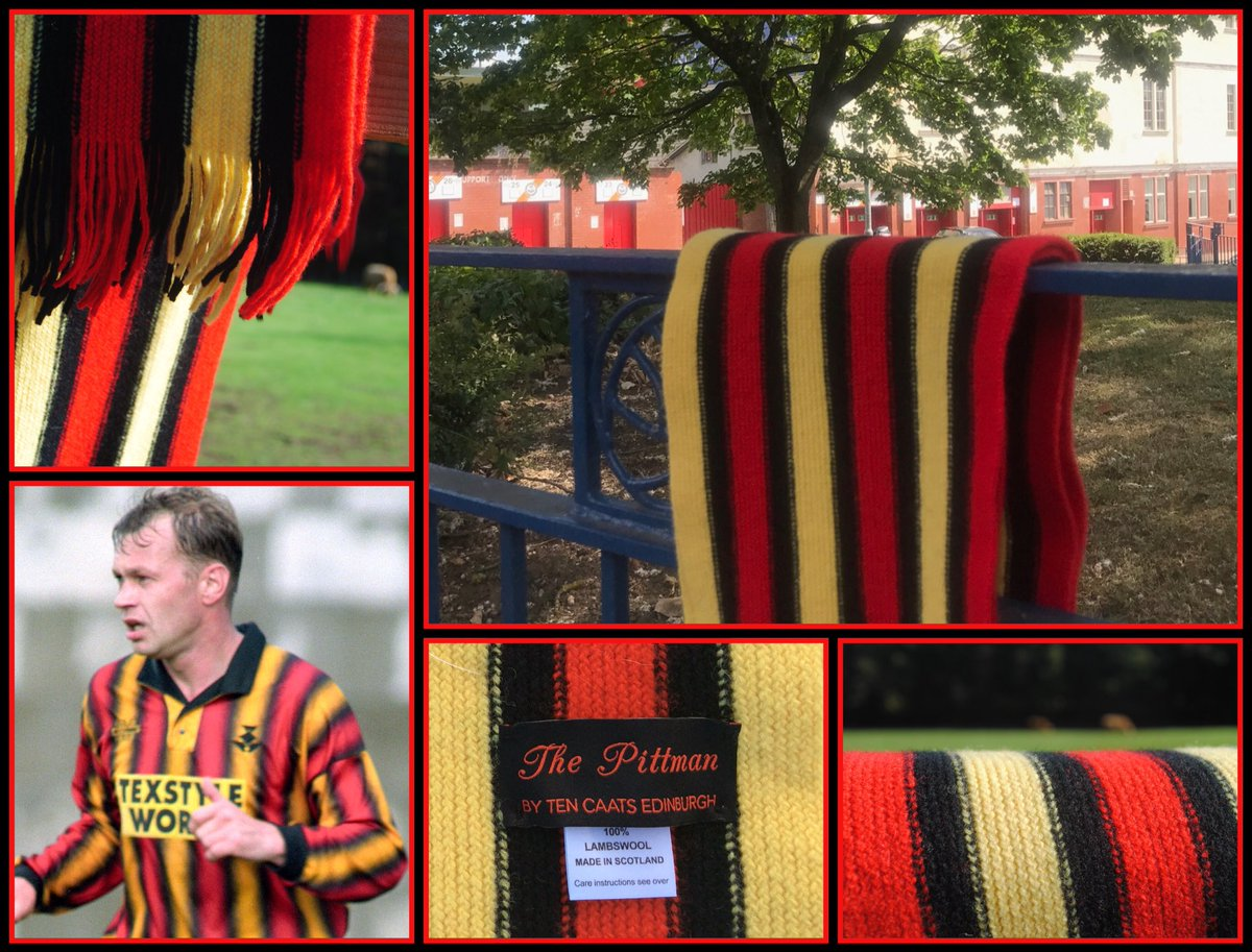 NEW PRODUCT: The Pittman - our lambswool scarf based on the Partick Thistle kit from 1994/95 and named with the blessing of former Jags left-back Steve Pittman. Available to buy via our online shop this Wednesday from 7pm   https:// tencaatsedinburgh.bigcartel.com/product/the-pi ttman-scarf &nbsp; … <br>http://pic.twitter.com/hfMlfwjY5N