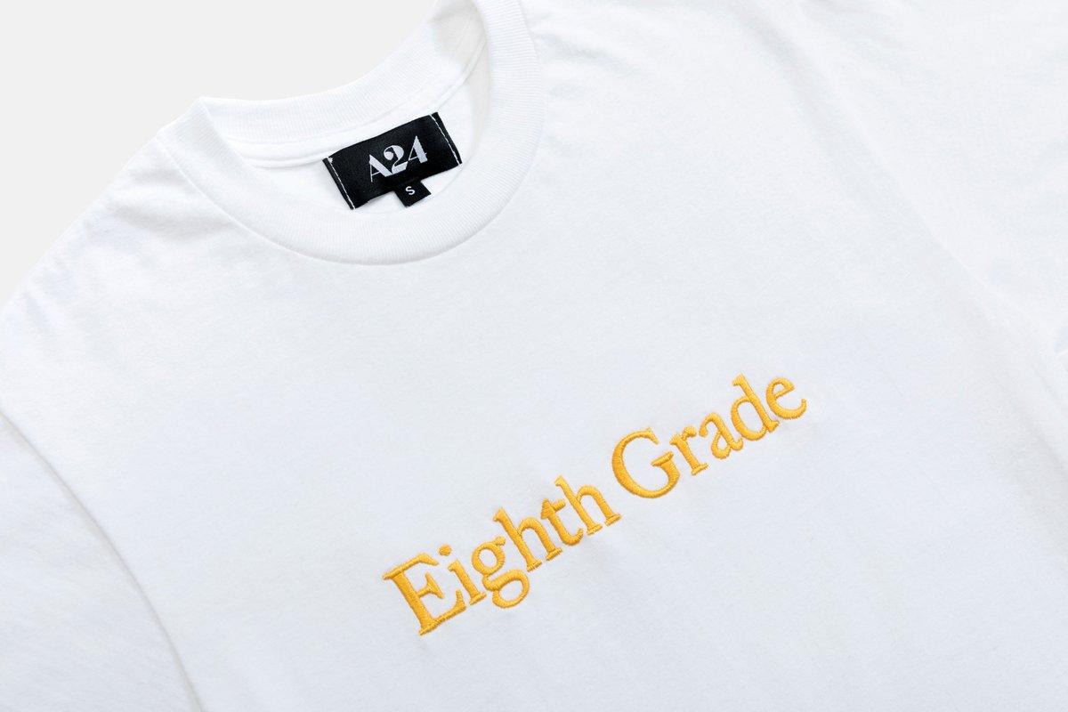 FALL WISHLIST: ☐ #EighthGrade on digital (tmrw) ☐ #EighthGrade embroidered tee (very soon)