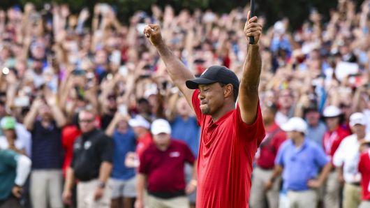 Tiger Woods this season: 18 starts 7 top 10s 2 Runner ups 1 big win to cap it off