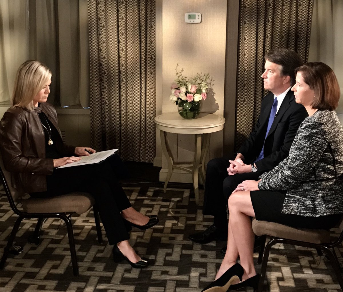 Tonight I sit down exclusively with Supreme Court Nominee Bret Kavanaugh and his wife Ashley on The Story. 7pm ET.