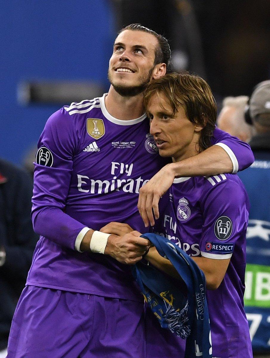 Congratulations my friend! An unbelievable player and an unbelievable season @lukamodric10 👌🏼👌🏼👌🏼