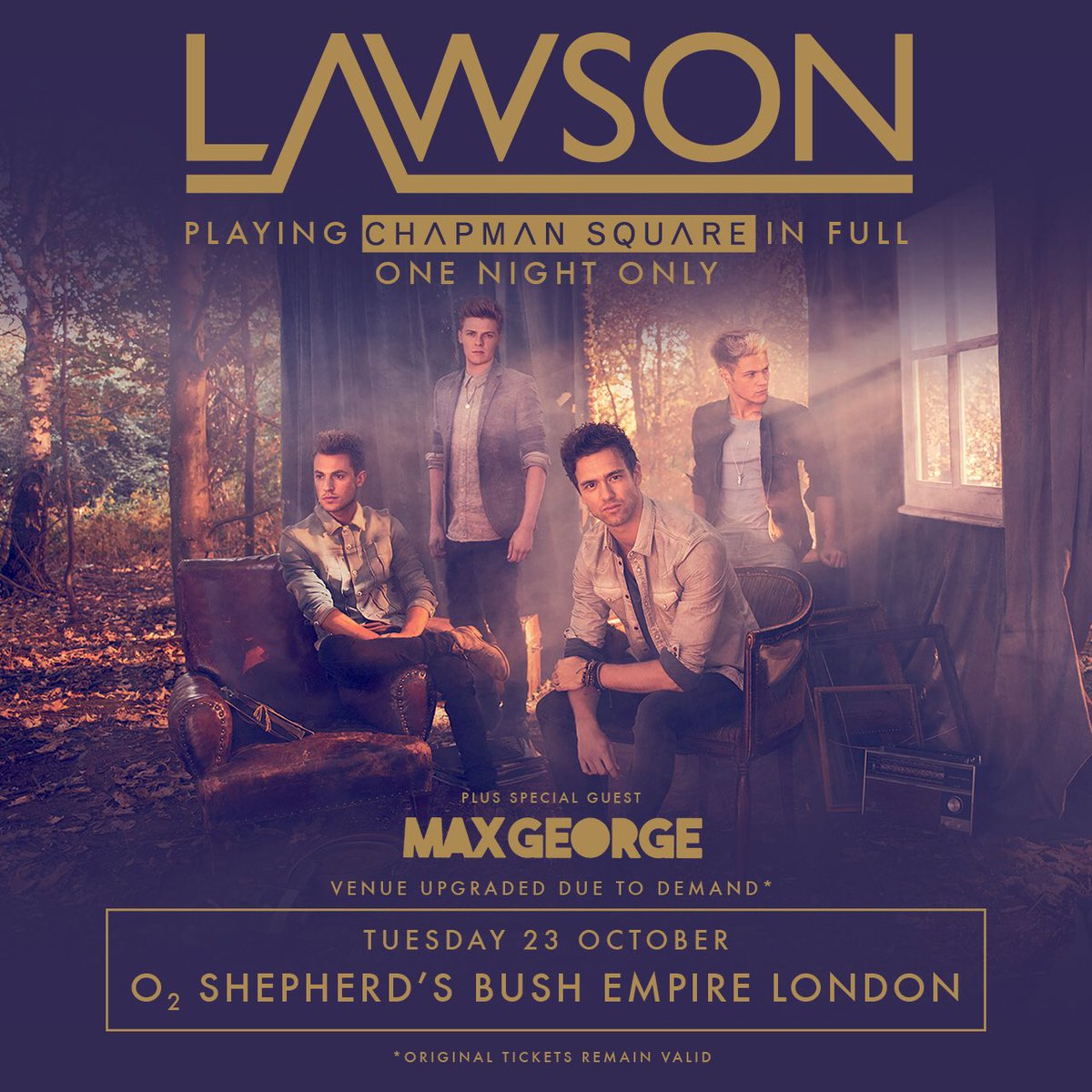 Buzzing to perform at the @LawsonOfficial lads London show on October 23rd. Get your tickets tomorrow from 9am: https://t.co/jS0jRGxpt6