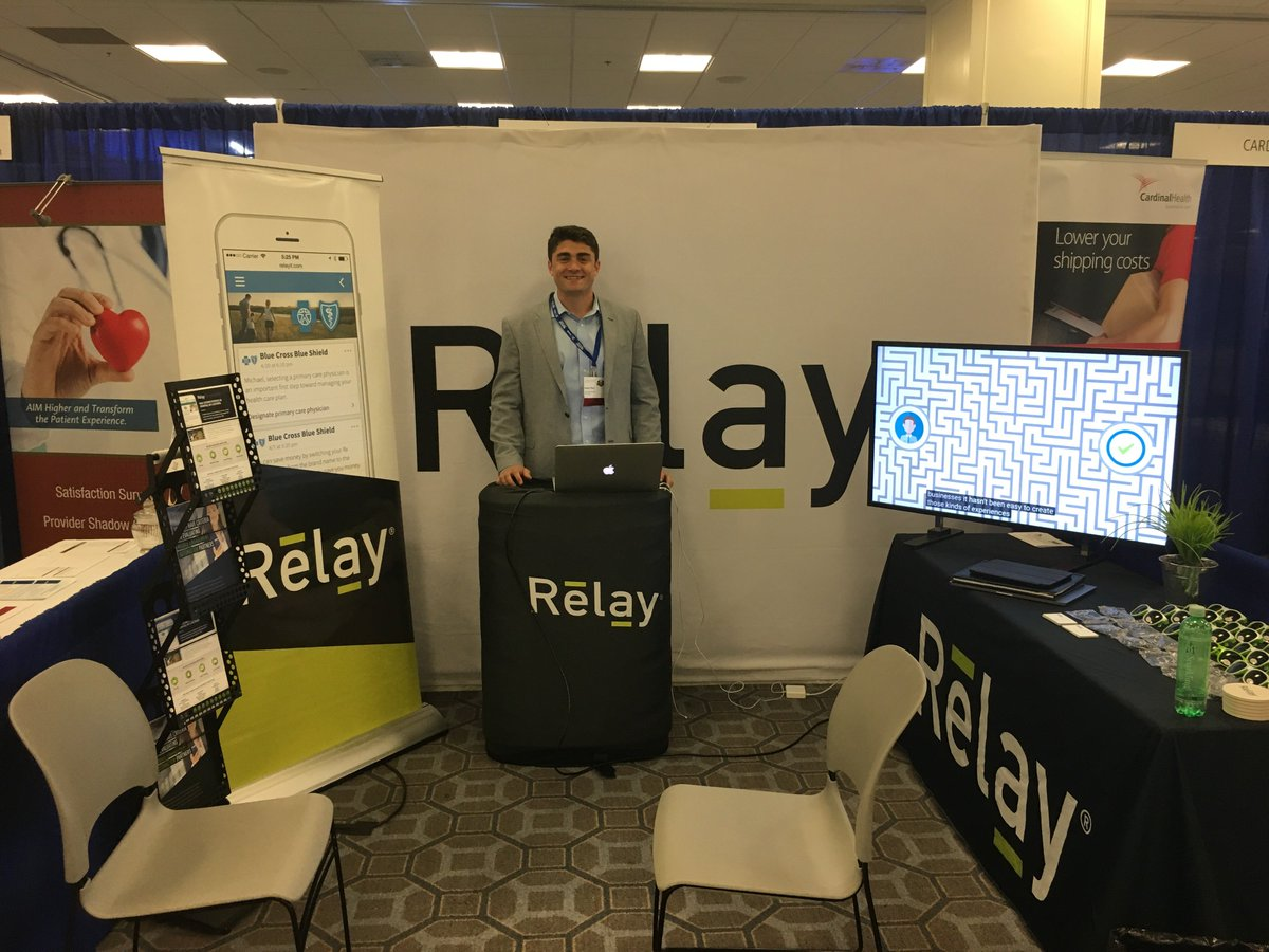 Relay Relayit Twitter Common Terminal Ready For A Great Rx Specialty Annual Meeting Swing By Our Booth To Meet The Team And See How Were Transforming Patient Engagement In Pharmacy