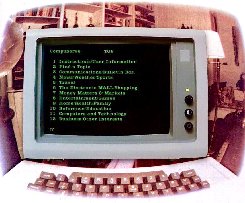 On September 24, 1979, CompuServe launched the worlds first consumer internet service, featuring the first public electronic mail service