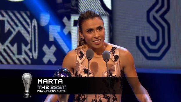 Porcentagem de votos no Fifa The Best Marta - 14.73%  Maroszán - 12,86%  Ada Hegerberg - 12,60% #FifaTheBest #Marta https://t.co/6g8VIAp0aC