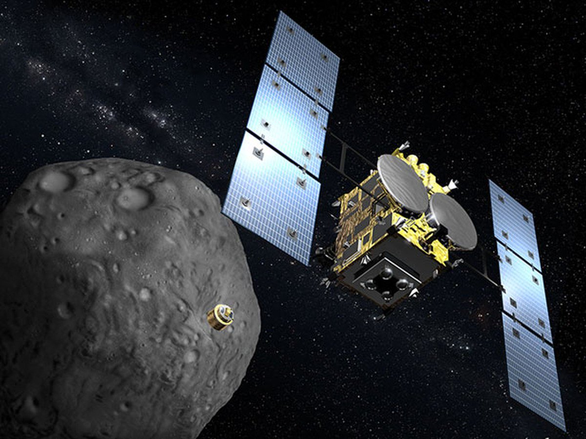Robôs lançados por sonda japonesa chegam ao asteroide Ryugu https://t.co/60Ud0TgTrm #G1