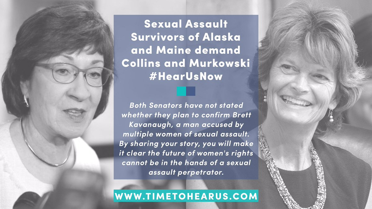 Read below, then share your story with #HearUsNow