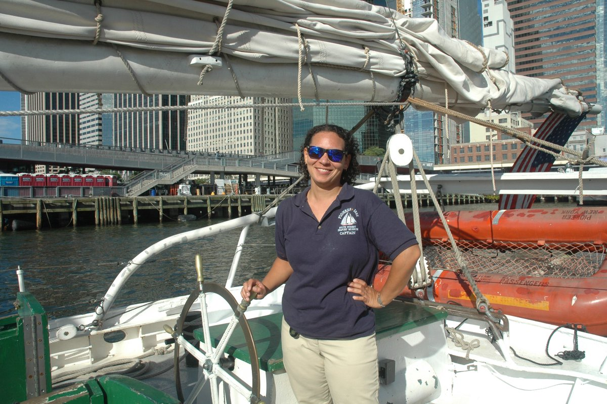 Maura Began Volunteering At The South Street Seaport Museum In 2007 And Museums Sail Training Program Is Very Fortunate To Benefit From Mauras