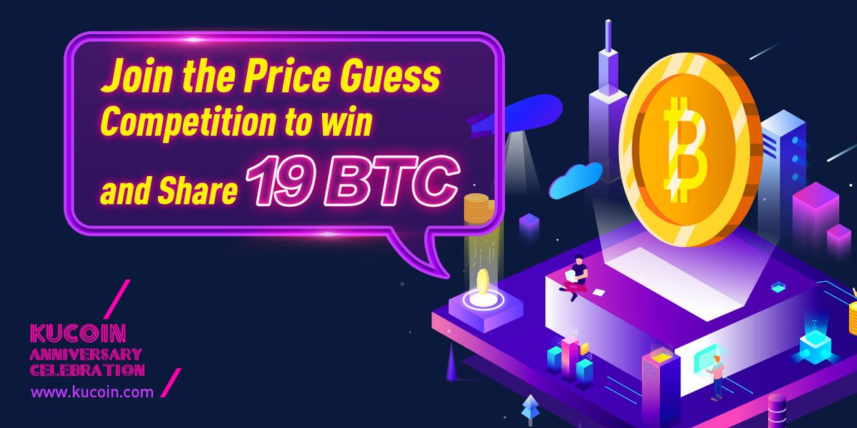 KuCoin&#39;s Anniversary Celebration | BTC Price Guess Competition Round 9 Rewards  Round 9 Highest BTC Price is 6,730.350483 USDT.  Congratulations to our Winners from the Ninth Round, Totalling 3 BTC in Rewards!  Log in to see if you are one of them!   https://www. kucoin.com/#/anniversary  &nbsp;  <br>http://pic.twitter.com/rwxUZwHTrp