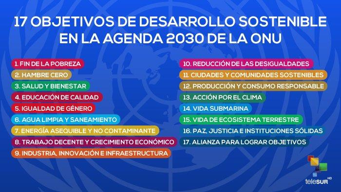 """ONU pide más recursos para cumplir objetivos de la Agenda 2030 https://t.co/kMVVhX6OQ6  Los #ObjetivosMundiales buscan """"no dejar a nadie atrás"""", pero aún no reciben toda la financiación necesaria para convertirse en realidad"""