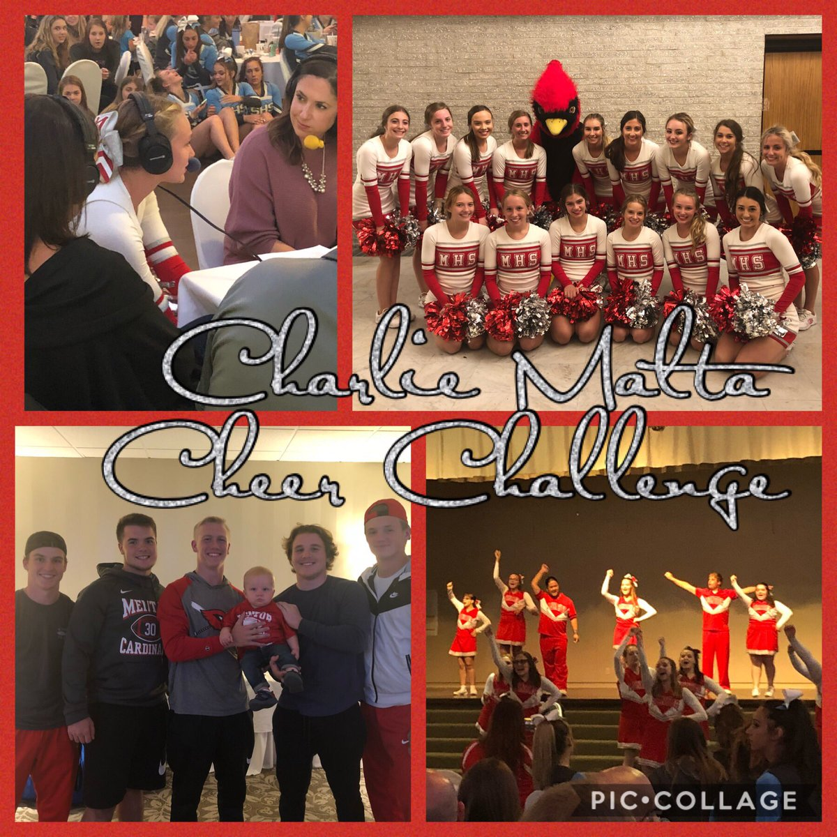 What an exciting night to see all of the area high schools showcase their  routines at the Charlie Malta Cheer Challenge! Congrats to the Sparkles Cheerleaders on their great performance tonight! #OnceaCard<br>http://pic.twitter.com/dNcq4n6AXS