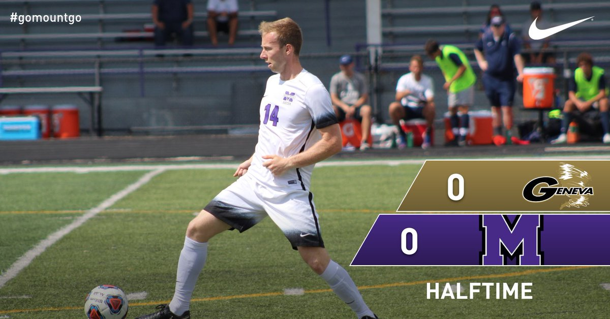 Mount Union Raiders On Twitter Men S Soccer Score At Halftime