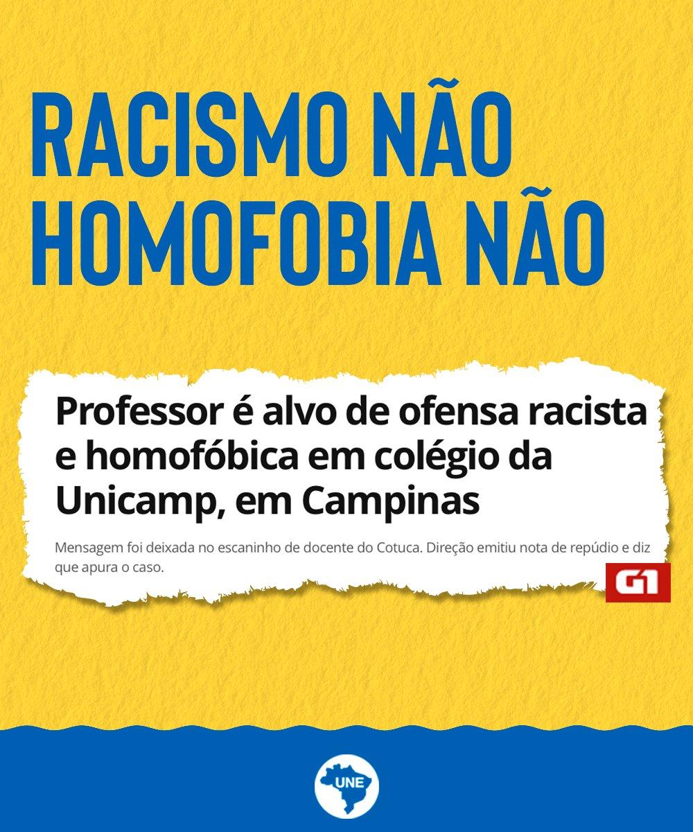 Não podemos tolerar racismo e a homofobia nas escolas, diga não ao preconceito!