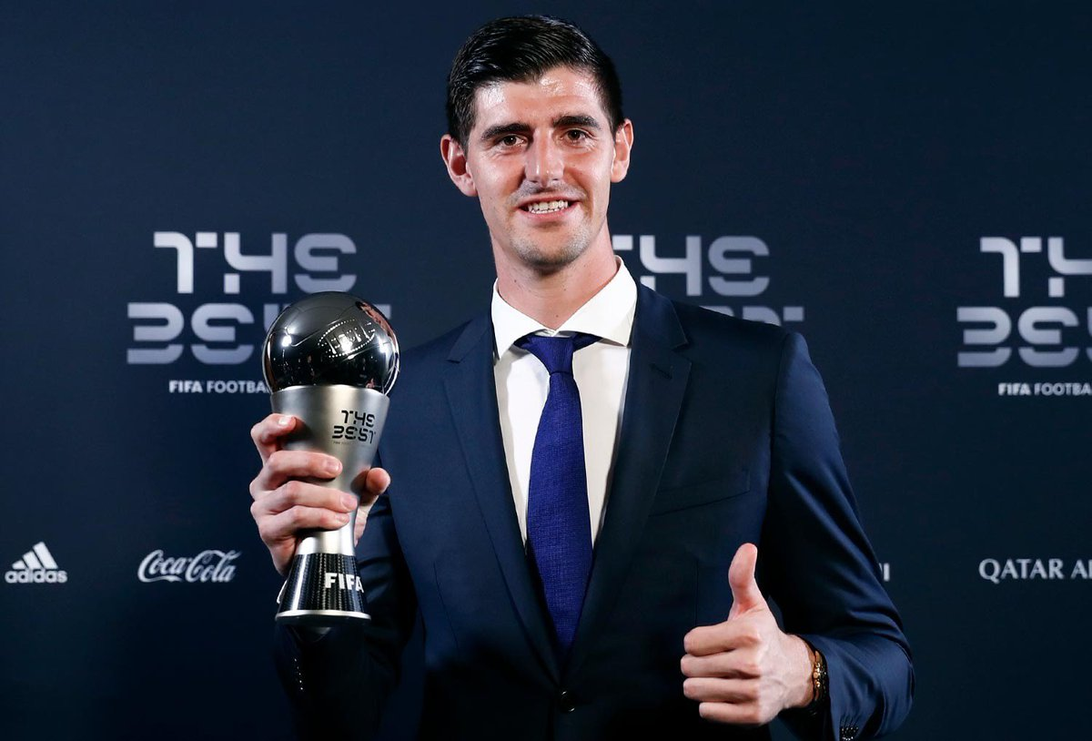 Very proud and happy to have won this trophy! #TheBest2018