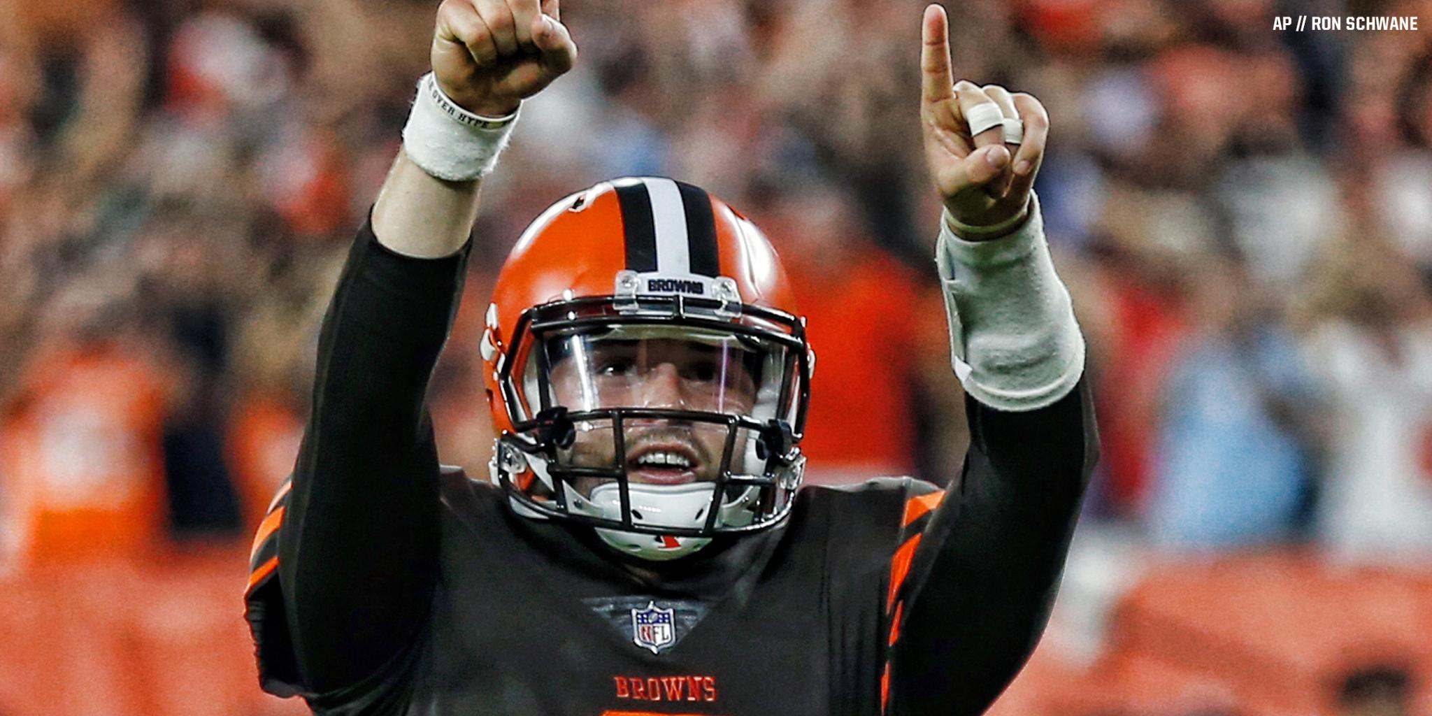 'It's just the beginning.'  QB @bakermayfield takes over as starter » https://t.co/dEXGtATUTP https://t.co/Y0zzZKGBqG