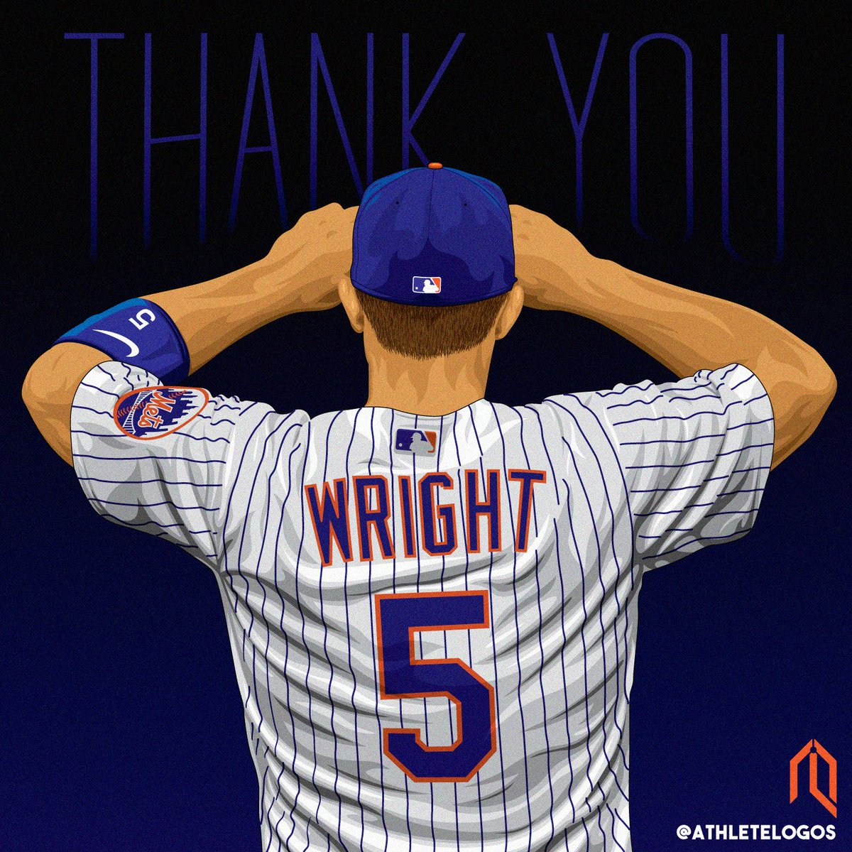 It&#39;s going to be #DavidWright Week here at Athlete Logos. Celebrating the tremendous career the Captain had in Queens. #LGM  @Mets @MLB #Mets #RE5PECT #ThankYouDavid @dylanobrien @spidadmitchell<br>http://pic.twitter.com/kVXeoKwRVw