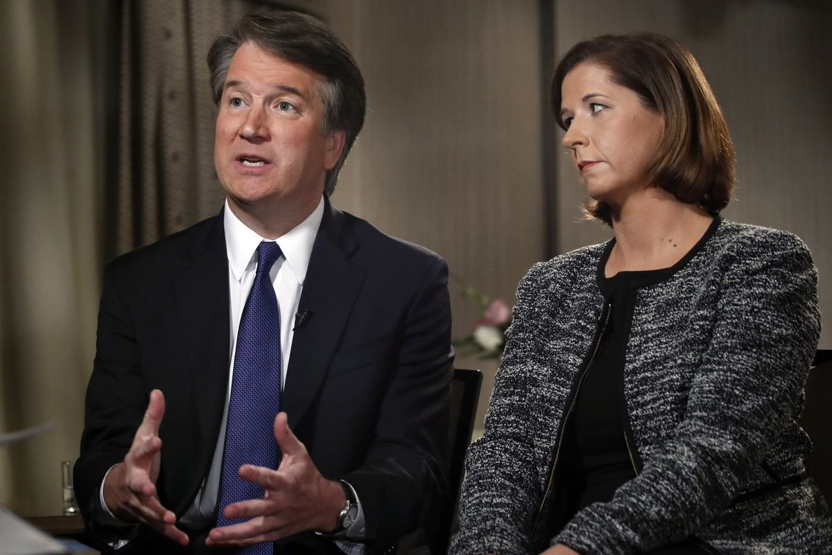 Brett Kavanaugh claims he couldn't have sexually assaulted anyone who has accused him — because he was a virgin 'many years' into college https://t.co/PF8s7DLROt