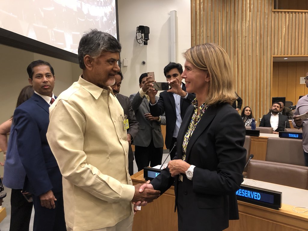 #UNGA:  and Chief Minister of Andhra Pradesh  join 's event on innovative and sustainable finance, co-hosted by BNP Paribas #BNPPCoalitions