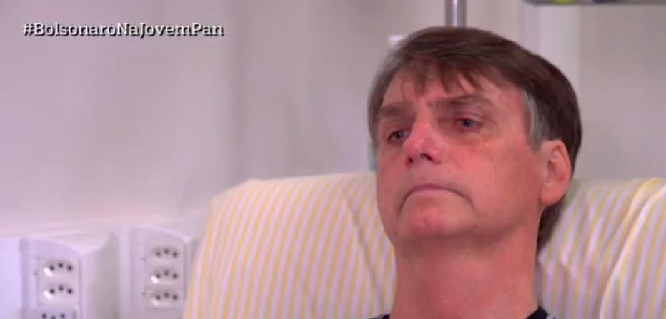 Na primeira entrevista após atentado, Bolsonaro chora e diz que agressor não agiu sozinho https://t.co/GgpmEQ14Es -via @EstadaoPolitica