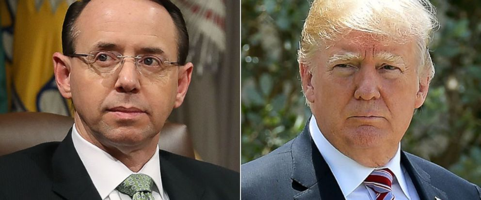 Rod Rosenstein, Trump's embattled deputy attorney general, to meet with president Thursday as sources tell @ABC that Rosenstein was expecting to be fired after being summoned to White House today. @jonkarl reports. https://t.co/PMVEDkAB0G