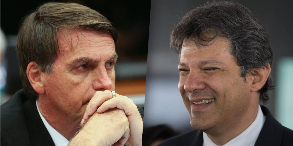 Bolsonaro perde para Haddad, Ciro e Alckmin no segundo turno, diz Ibope https://t.co/KEItLwzl22